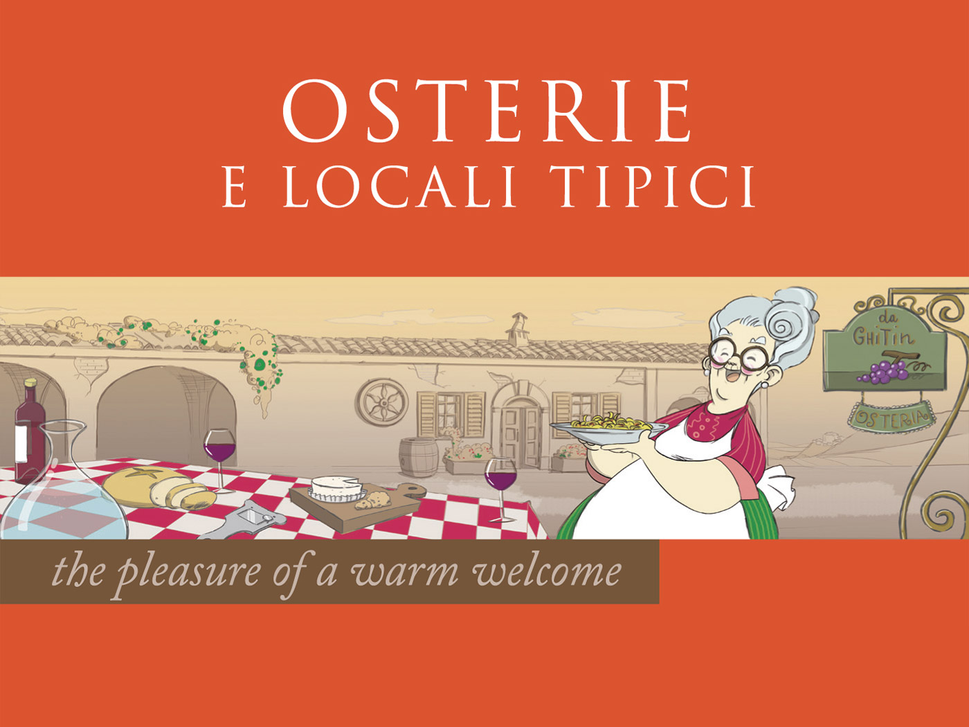 Osterias and typical-style eateries